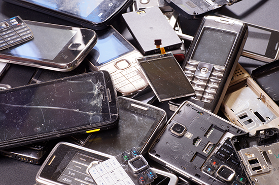 electronic waste mobile phones