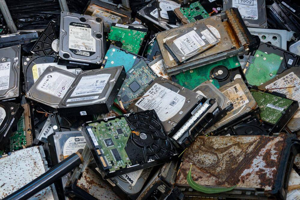 HardDisk Drives Recycling