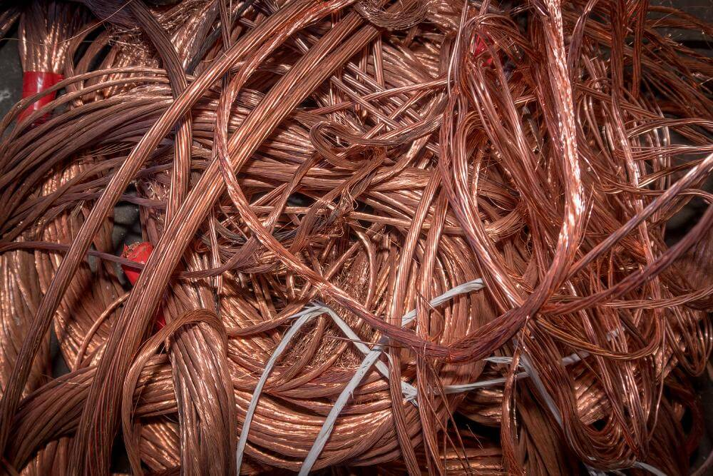 Recycling Copper Wires Cables